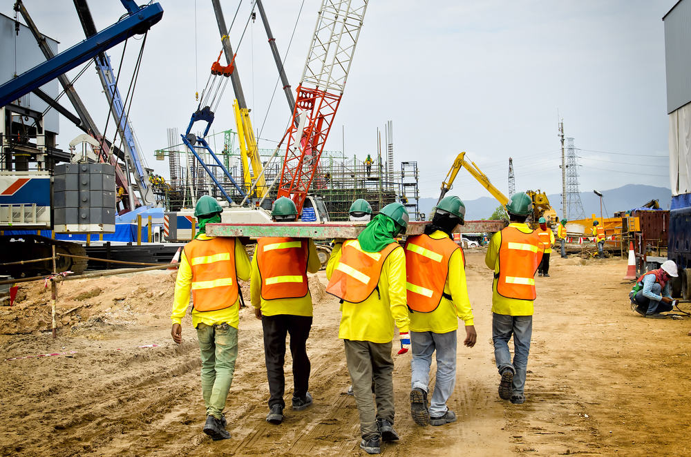 EPIs na construção civil – Blok Moçambique