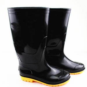 PVC safety boot for rain