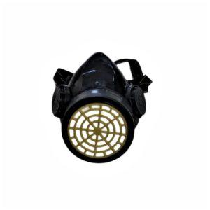 Máscara com filtro de cartucho