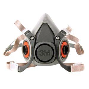 Respirador Reutilizável Semifacial 3M Série 6200 (tam M)