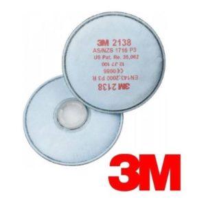 Filtro 3M 2138 Partículas Tipo P3