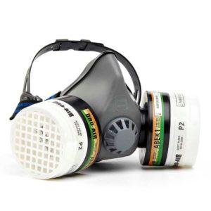 Respirador Reutilizável Semifacial Dromex (Duplo)