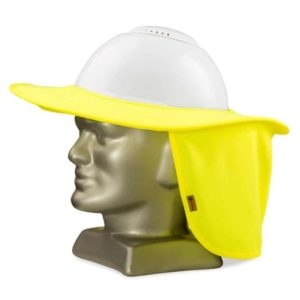 Protector solar com aba para capacete